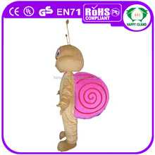 HI CE best price lovely snail mascot costume