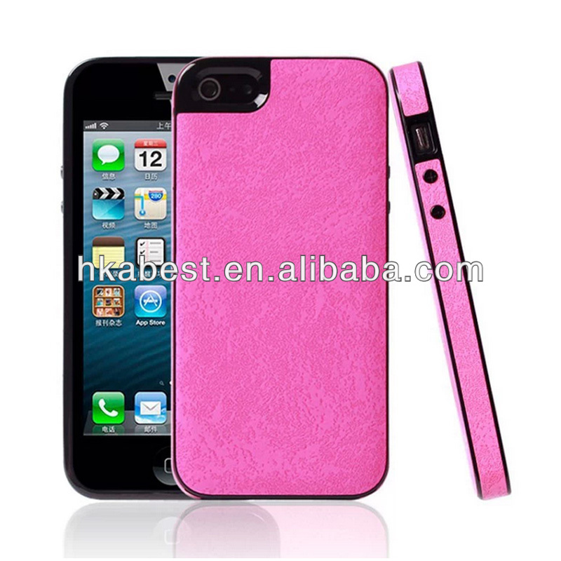 Hot Sale For iPhone 5 Case/Cedar Skin Lagging TPU Case For iPhone 5