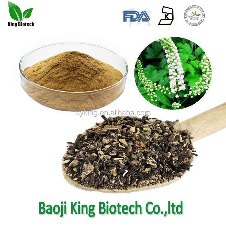 Nature Black cohosh root powder, natural black cohosh root extract