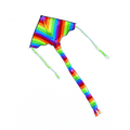 Colorful delta kites for kids easy flyer
