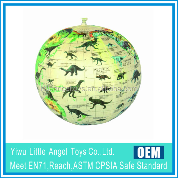 EN71 6P PVC Promotional Logo Customized Printed PVC Beach Ball