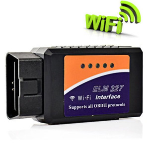 V1.5 WiFi cheap auto diagnostic tools obdii elm327 mini car scanner obd 2 elm 327 g scan obd2 with CE FCC ROHS