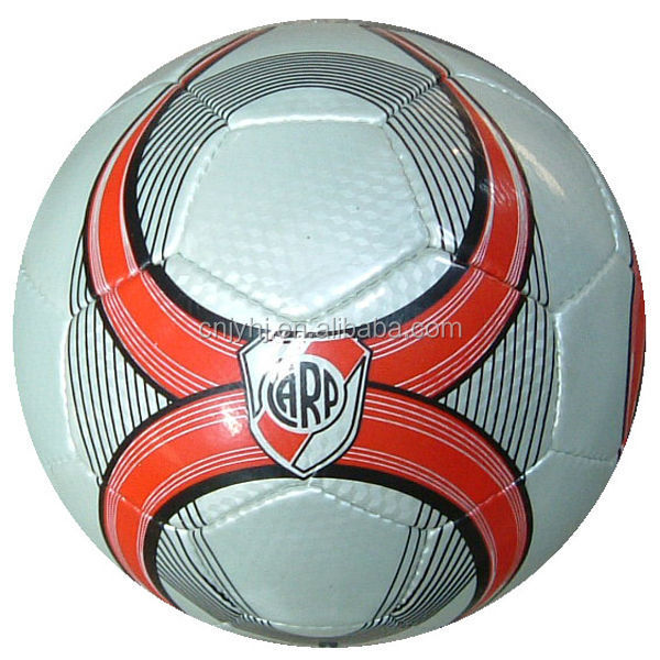 Design new products pvc hand sewn football soccer