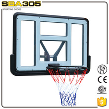 Professional basketball hoop backboard