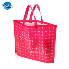 Rongmei All Export Products Pink Beauty Style Custom Print Carry Bag