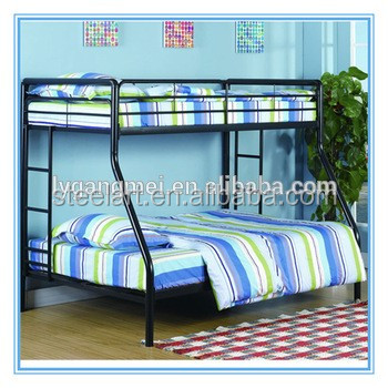 Wholesale wrought iron home furniture metal double child bed