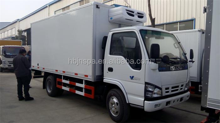 Direct Factory Price 3 Ton Small Refrigerated Truck For