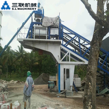 Hot asphalt road concrete machinery batching mixing plant