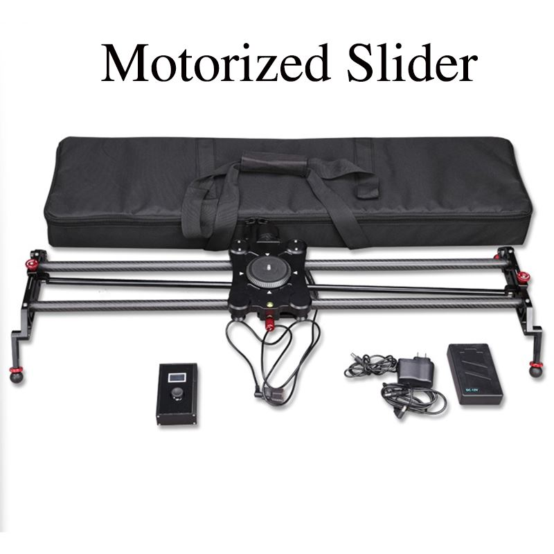high quality Carbon Fiber Professional 80cm TimeLapse motorized camera slider
