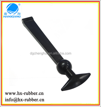 t shaped rubber handle latch for ice cooler box