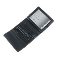 for 10.1'' tablet pc leather case keyboard,black case keyboard for ipad 2