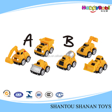 Wholesale car mini toy plastic construction truck