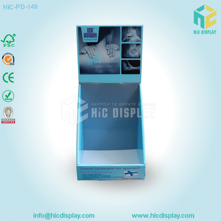 paper cardboard counter top display box