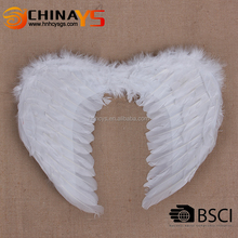 40*32 black white red angel fairy feather wings for halloween fancy dress costume accessory