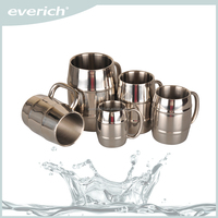 Everich Double Barrel Insulated Coffee and Beer Mug
