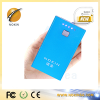 NOKIN 2014 new style mini portable battery bank power bank 50000mah for blackberry cellphone