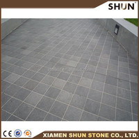 chinese basalt color basalt paving used for road