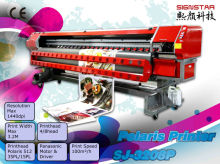 High precision spectra solvent printer