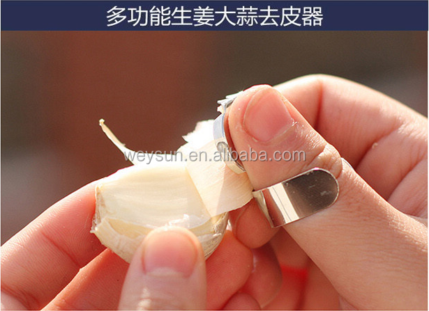 Finger Peeler Tool Garlic Ginger Chestnuts Kitchen Good Helper
