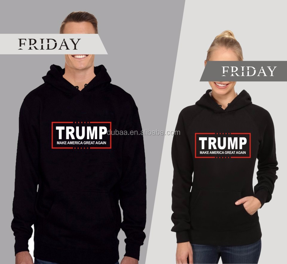 Long Sleeve Hoodies Donald Trump Hoodie Make America Great Again 2017 President