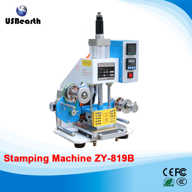 Manual hot stamping machine Leather embossing LOGO Branding machine