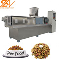 Large capacity puffed dog food snack machinery extruder equipment plant production line