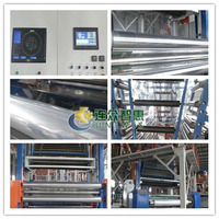 2015 POF machine high transpare heating shrink film