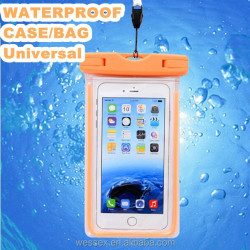 Promotion waterproof case/waterproof bag/waterproof pouch for universal mobile phone