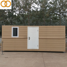 Beautiful prefab house folding Container House used as refugee camp