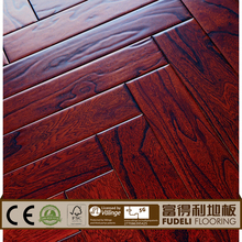 Elm Engineered Parquet herringbone wood flooring