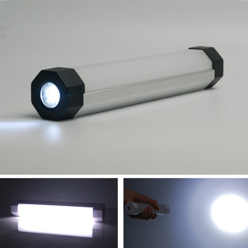 new design UY-Q8T 2500MA 200LM magnetic USB rechargeable flashlight torch light