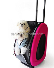 Convenient trolly pet bag and outdoor dog bag