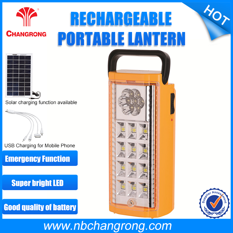 USB mobile phone charge Battery Hand Portable Lantern
