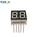 2 digit 0.36inch red color common anode LED seven segment display
