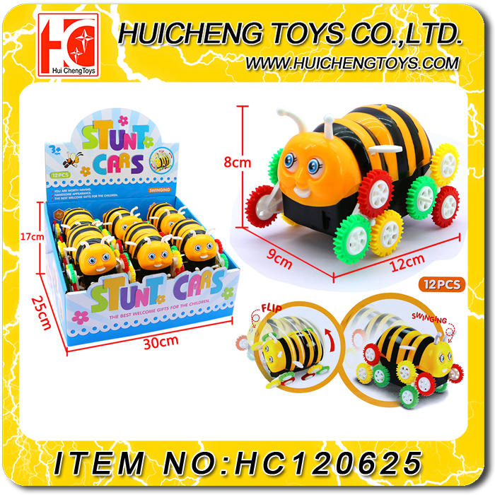 Wonderful eclectic B/O dump bee truck funny cheap plastic bee toy for kids
