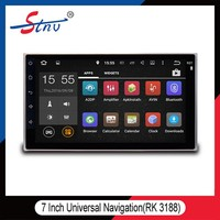 UNIVERSAL ANDROID 4.4 TOUCH SCREEN CAR DVD PLAYER FOR ANDROID RK3188 WITH RAM 8GB FLASH 1.6GHZ CAR DVD PLAYER