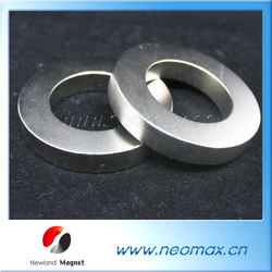 Radial Oriented ring sintered neodymium rare earth permanent N52 N35 magnets/china ndfeb magnet