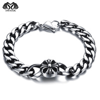 Custom Logo Italian Mens Sun Pure 925 Sterling Silver Jewelry Bracelet For Man