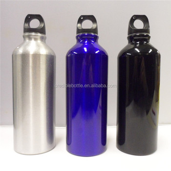 silver, blue , black 250ml-1000ml aluminum water bottle make custom logo