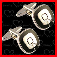 Hot sell brass customized cufflinks for men fashion cuff link