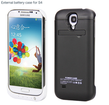 Hot sell external backup battery case power charge for Samsung galaxy S4 3200mAh