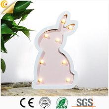 Widely used children bedroom bedside table soft light 3d night light led lamp
