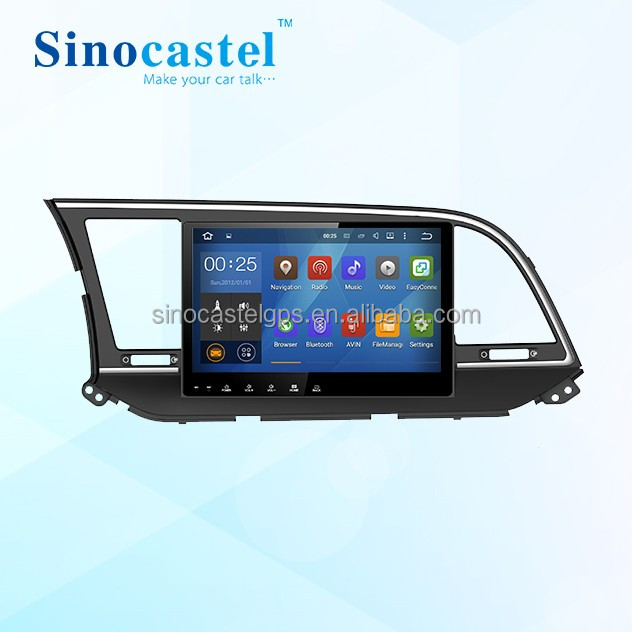 android auto double din car media player 2 din android car stereo for Hyundai Elantra 2016