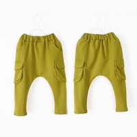 spring autumn fashion baby boys long cotton sport pants