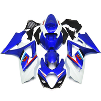 Injection Fairings For Suzuki GSXR1000 K7 07 08 2007 2008 Plastics ABS Complete Motorcycle Fairing Kit Blue White