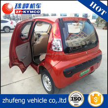 EEC certified china manufacturer bubble electric pickup car