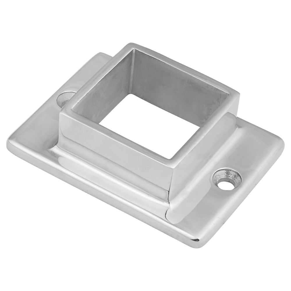 Stainless Steel Handrail Base Flange ,Square Flange for Railing Post