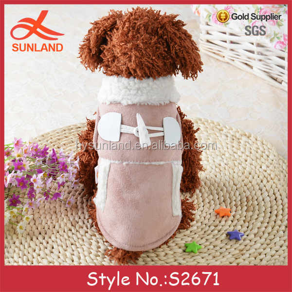 S2671 fashion pet clothing bangkok wholesale small dog clothes