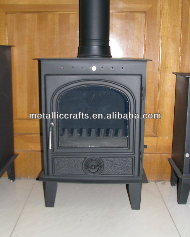 Cast Iron Free Standing Indoor & Outer Door Fireplace/ Chimney ...
