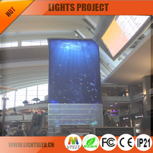 Hot Sale Alibaba Indoor P5 P8 P10 Transparent Glass LED Display Screen LED Video Wall for Window Decoration
